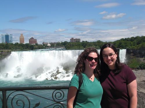 American Falls and Bridal Veil Falls