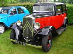 Citroen (gueguette80 ... non voyant pour une dure indte) Tags: old cars rouge citroen autos classiccars picardie somme anciennes redcars doullens