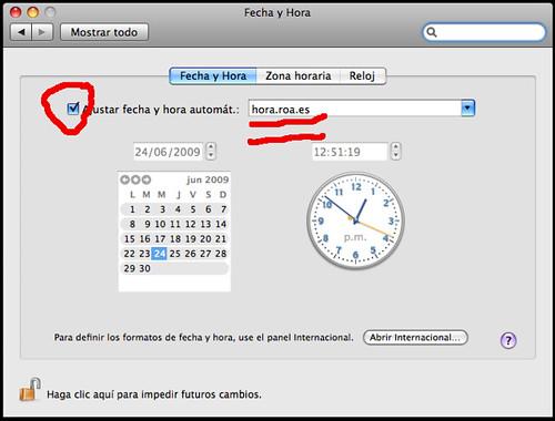 hora.roa.es MAC