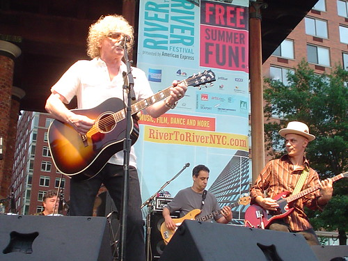 Ian Hunter at the River 2 River Fest, New York