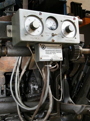 Thermostat de Linotype
