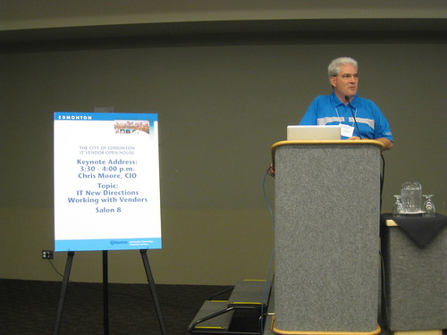 Edmonton CIO Chris Moore