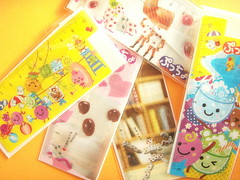 Kawaii Puccho Candy Characters Novelty Bookmark Cute Japan (Kawaii Japan) Tags: food anime cute japan asian japanese promo candy small mini goods collection plastic novelty kawaii characters stationery rare collectibles pvc bookmark stationary novelties japanesecandy japanesesweets noveltyitem puccho foodwithfaces