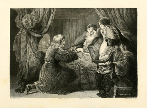 003- Isaac bendice a Saul- Coning