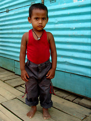 044 (Brown Eyes 13) Tags: boy kid asia child poor worker asianboy helpless brownboy