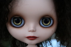 My hand painted eye chips.