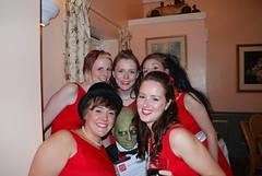 Jen Amp Brynley S Red Amp White 50 S Inspired Wedding