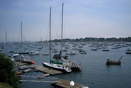 Marblehead Harbor July 3, 2009