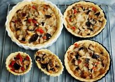 Mushroom pies & tarts (MelindaChan ^..^) Tags: food macro mushroom kitchen cheese yummy yum oven cook vegetable mel fungi eat bakery fungus meal pies melinda bake tarts mushroompie mushroomtart chanmelmel melindachan