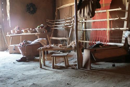Haus des Tuchhändlers in Haithabu - Museumsfreifläche Wikinger Museum Haithabu 05-07-2009