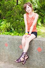 (swanky) Tags: portrait people woman cute girl beauty canon asian eos model asia pretty taiwan babe taipei   2009 taiwanese     mikako  dcstar  mikako1984  5dmarkii 5d2 5dmark2