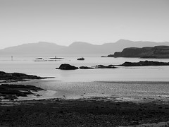 Mull from Eigg (Jeff Worsnop2009) Tags: monochrome landscape mull eigg