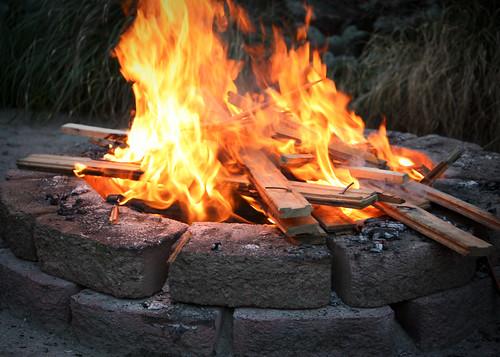baptism bonfire