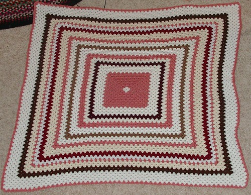 afghan for my youngest daughter my progress