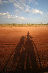 Australian outback. October 2007.