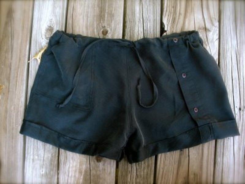 Shirt shorts by Jillian Dee