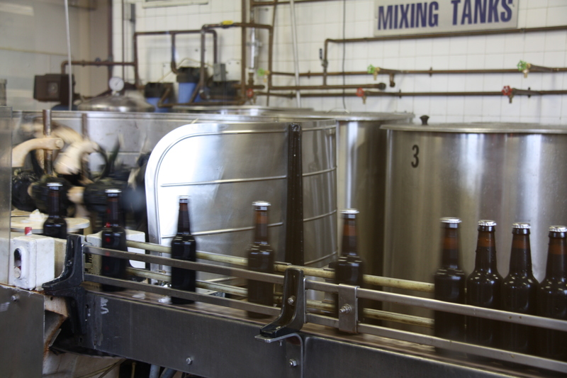 Mixing and Bottling at Fitz's