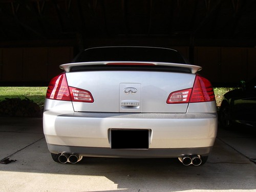 I Bolted On A Megan Racing Y Pipe 350z Midpipe And Had Local Shop The In Back To Two Mufflers Which Got Off Ebay: 2005 Infiniti G35 Sedan Exhaust System At Woreks.co