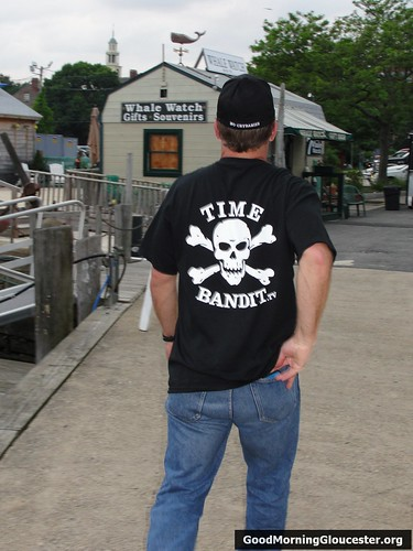 Andy Hillstrand Sports His Time Bandit Gear