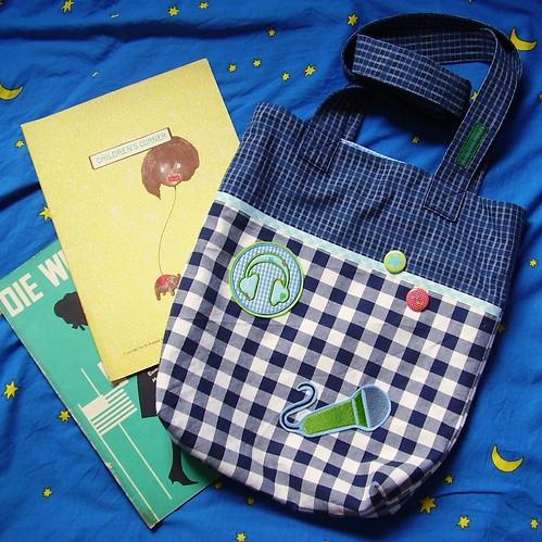 Büchertasche für Cosima