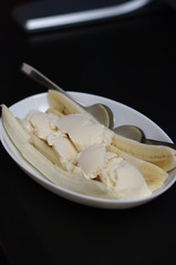 Day 195 - Banana Split with Vanilla Ice-cream