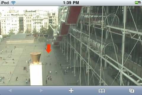 Live from Centre Pompidou!