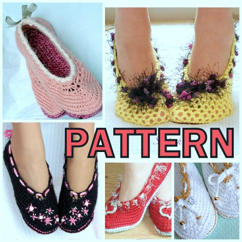 Crochet Pattern Central - Free Slipper And Sock Crochet Pattern