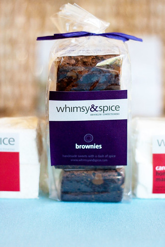 Espresso brownies with dulce de leche @ Whimsy & Spice