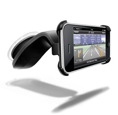 NAVIGON Car kit for iPhone (NAVIGON_) Tags: car by turn design kit navigation charger holder cradle iphone tomtom navigon mobilenavigator