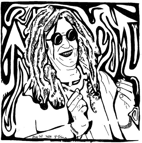 Maze of Howard Stern Portrait