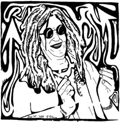 Howard Stern Maze Portrait