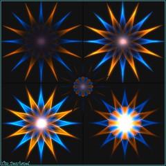 Rosace bleu carotte  Gore Suntzu (Tim Deschanel) Tags: life sculpture sun art studio tim sl gore second abuse deschanel suntzu moonspell oakworm prims npirl