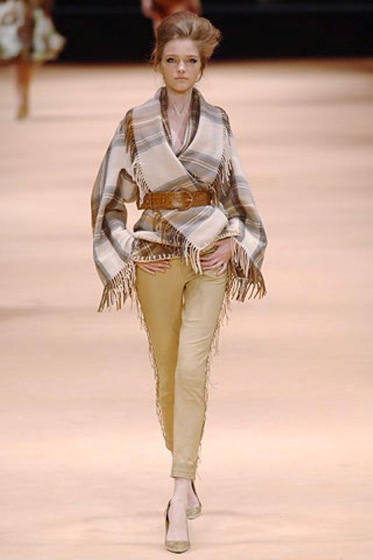 Alexander McQueen Check Blanket Jacket