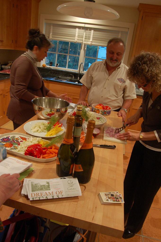 Chefs prepare