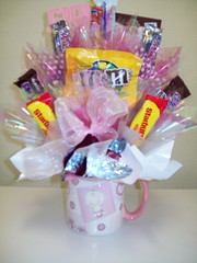 Baby Girl (Candy Bouquet) Tags: boy baby girl cake candy diaper bouquet