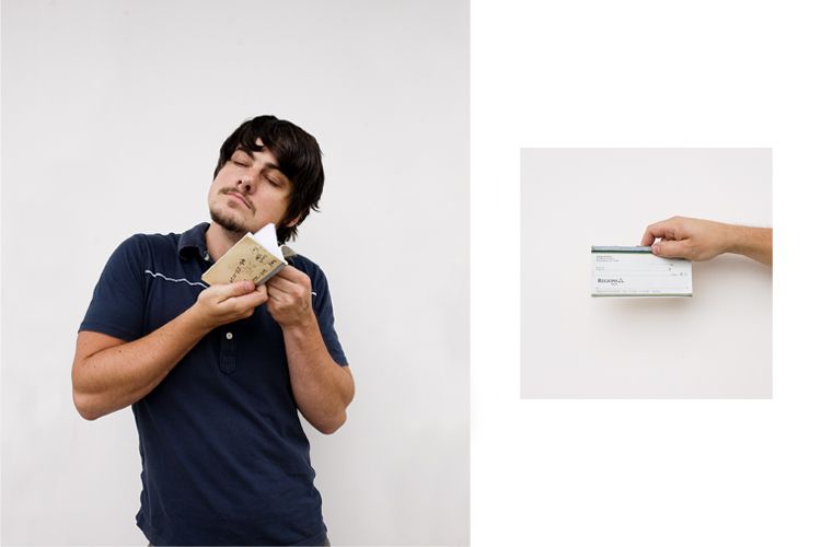 Seth and his check book....