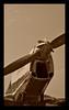 Old aeroplane in sepia... (Aman Iman ॐ) Tags: old sepia plane switzerland airport erotic suisse geneva aircraft aeroplane propeller genève avion ancien érotique aéroport hélice aéronautique cointrin monomoteur u136 genevaclassics09 laérotique