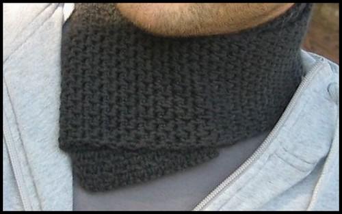 comment tricoter une echarpe d'homme