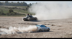 King off the road ? (rikdom) Tags: army nikon tank military rally subaru challenger prodrive d80