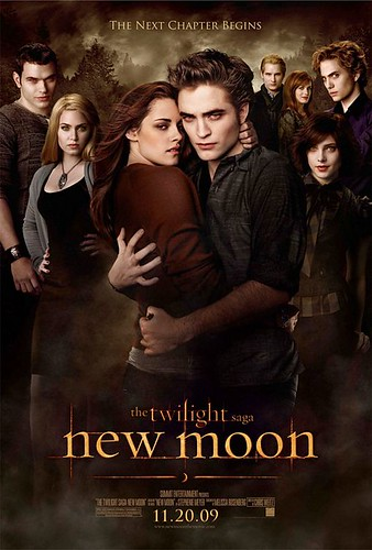 twilight saga new moon edward cullen bella swan