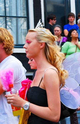 Amsterdam's Gay Pride Parade, Aug '09. marvie gay