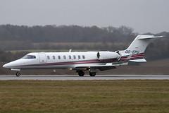 OO-EPU - Abelag Aviation - Learjet 45 - Luton - 090310 - Steven Gray - IMG_0761