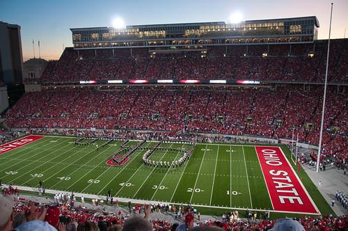 Ohio Stadium at Dusk