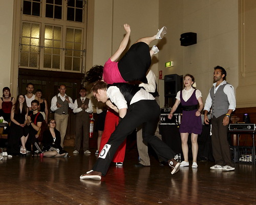 Evan Hughes and Francine Jeffrey, Australian Hellzapoppin Prize winners 2009