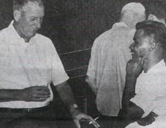 Taitano and Captain J.R. Grieve