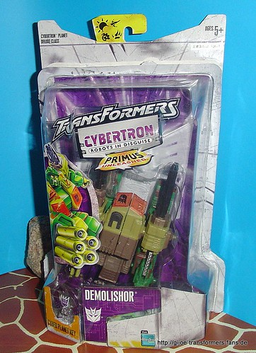 Demolisher Cybertron Deluxe  Transformers 001