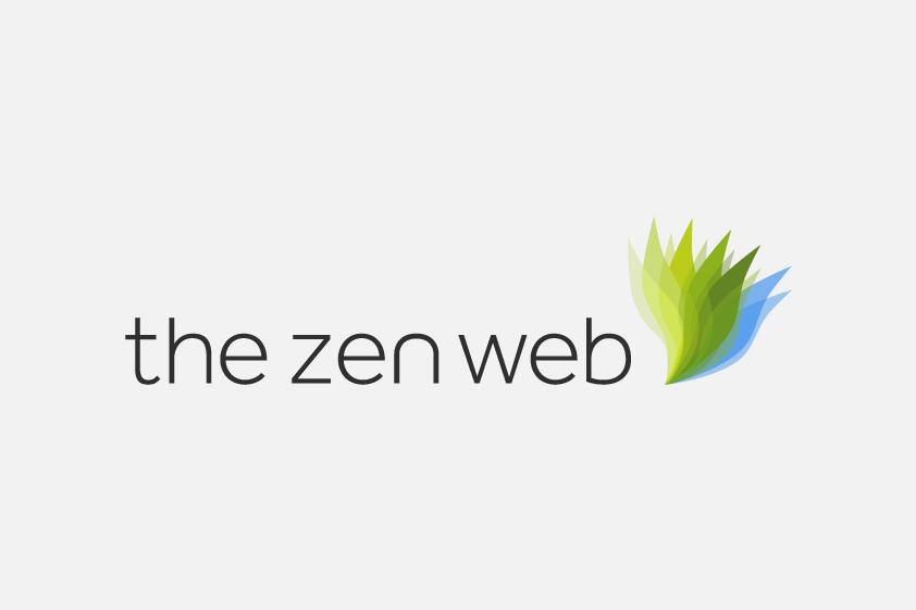The Zen Web Logo Design