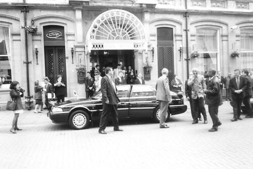 Nelson Mandela in Cardiff, 1998