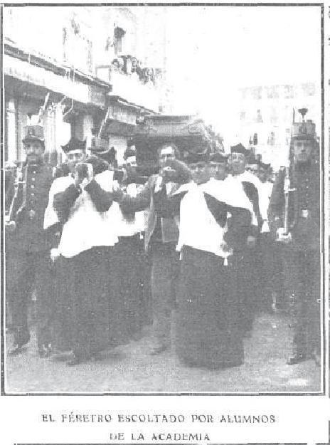 Féretro del Cardenal Sancha. Foto R.Cifuentes para revista Actualidades