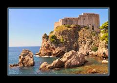 Dubrovnik's rocks